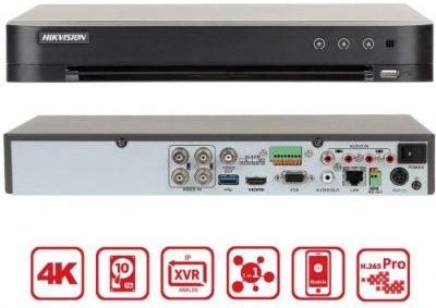HIKVISION DS-7204HTHI-K1 - 4 قنوات 8 ميجابكسل H.265 4K DVR